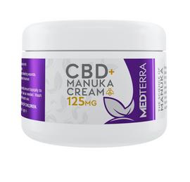 Medterra CBD + Manuka Cream - Skin Moisturizer