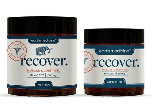 Earth Medicine Recover MicroCBD Muscle & Joint Gel