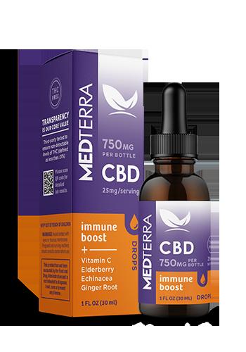 Medterra CBD Immune Boost Tincture - 750 mg