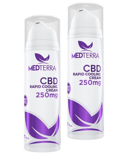 Medterra CBD Rapid Cooling Cream - 3.4 oz
