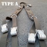 German suspenders Type A Bundeswehr Y-strap koppeltragegestell
