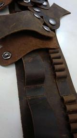 303 British Ammo Bandolier Leather Ammo Belt Harness