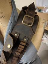 Lee Enfield Leather Bandolier 303 British Ammo Bandolier