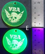 V2A Leather Patches Keychain Merchandise