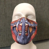 Mad Max Face Mask Muzzle Blood Bag