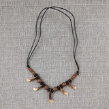Teeth Necklace Horse Tooth Tribal Post-apocalyptic
