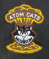 Atom Cats Patch Large Jacket Patch