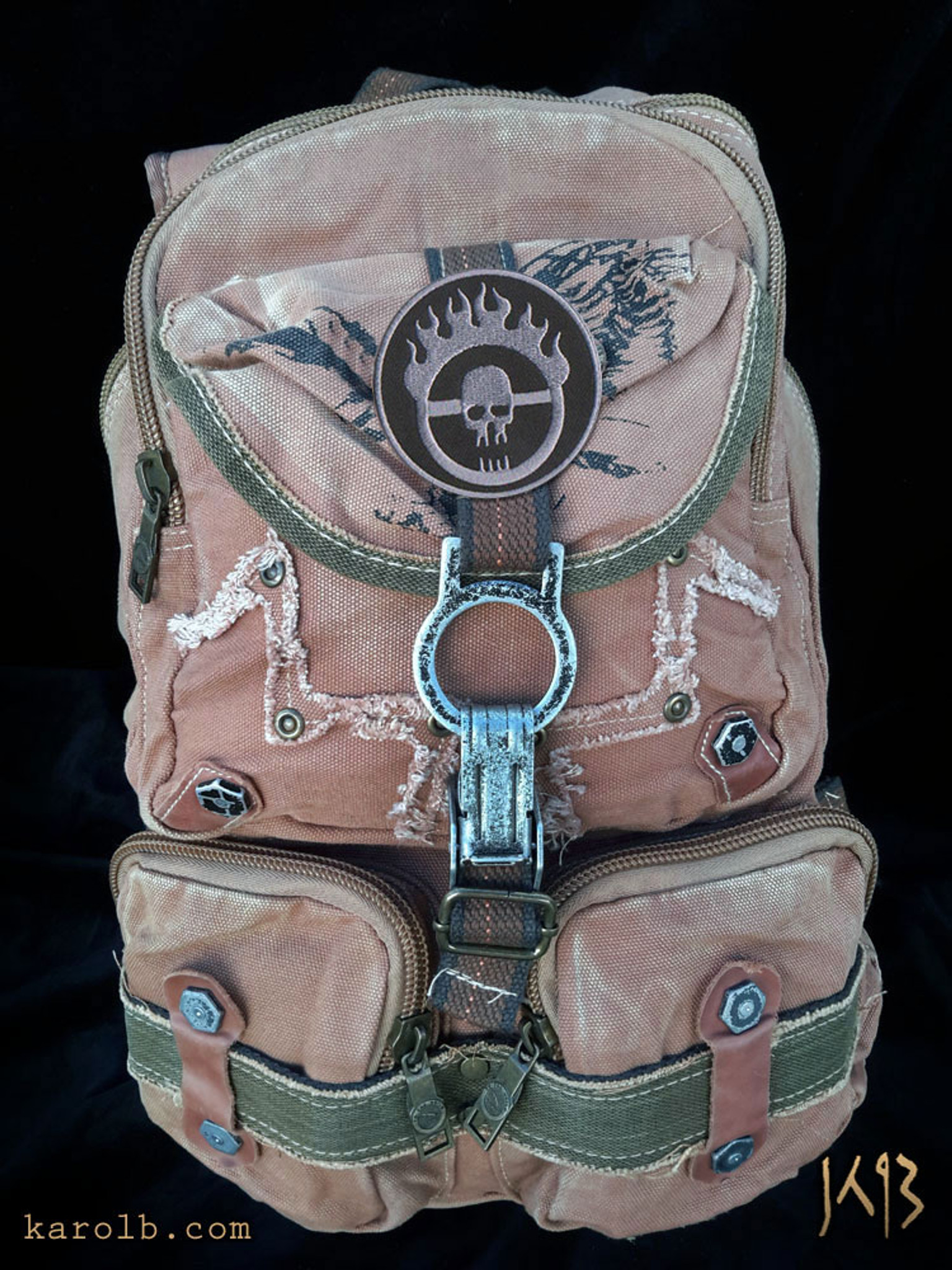 d59577d6da36 Atomic Slug Backpack - War Boy Edition Mad Max Fury Road - Karol B