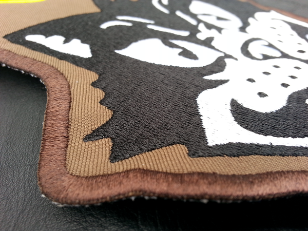 Atom Cats Motorcycle Patch
