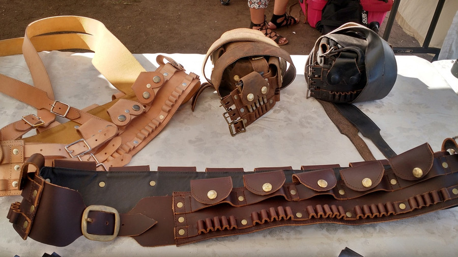 Leather Ammo Lawrence of Arabia Lee Enfield 303 Bandolier