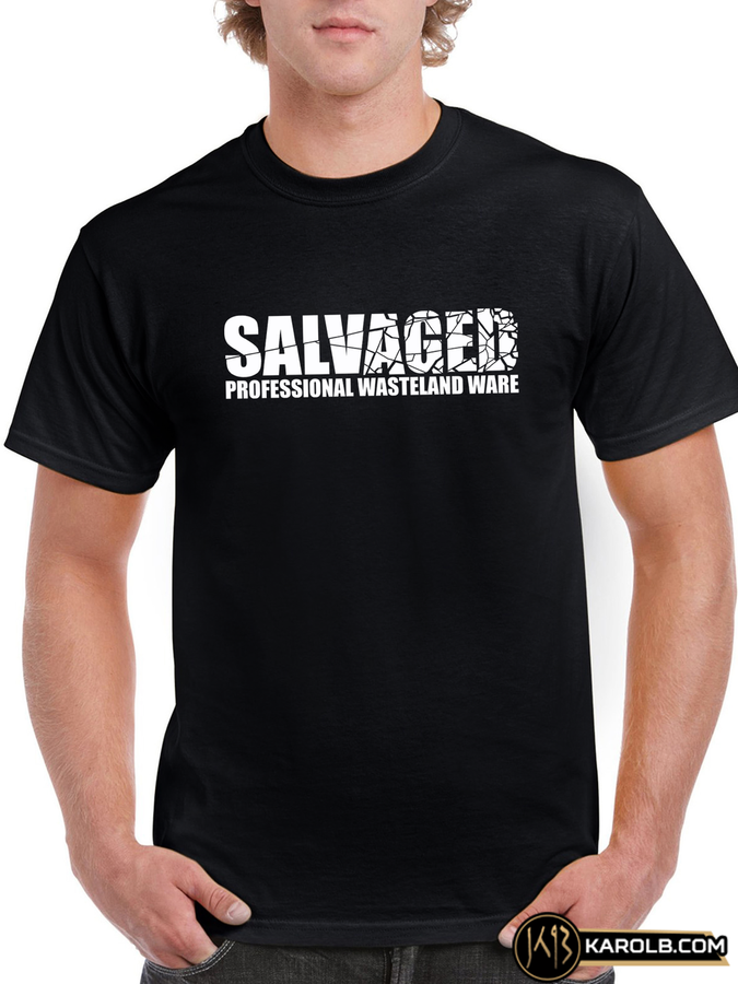 Salvaged Professional Wasteland Ware Mark Cordory T-Shirt