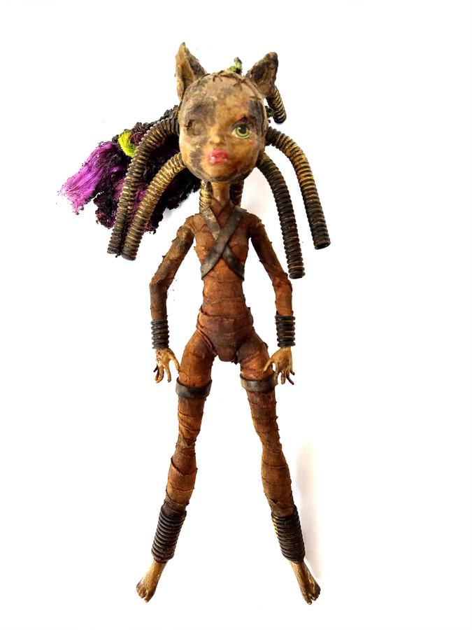 Salvaged Wasteland Dolls by Mark Cordory Articulating 3