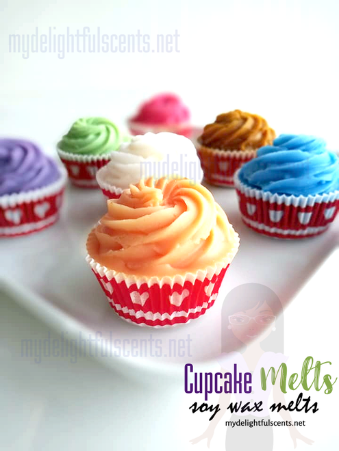 Cupcake Melts- Hot fudge Sundae