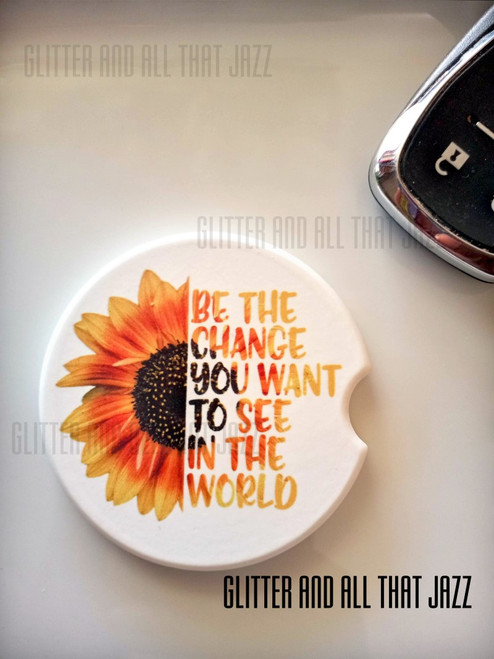 Be the Change Car coaster