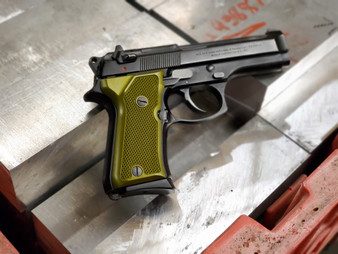 Olive Drab Green Anodizing Service for Customer Supplied Grips