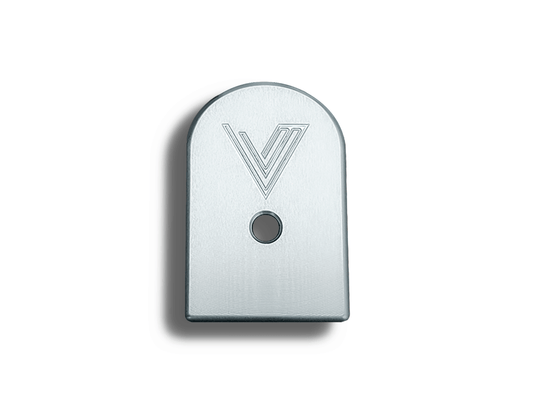 Tired of those plastic base pads on your CZ? Here is the answer.  The Vytal Manufacturing base pads have ledges and bevels cut in all the right places, making a potential mag strip easy under any conditions. These pads fit the 15 rd Mecgar magazines.