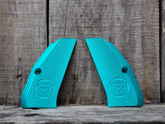 Teal Anodizing Service for Customer Supplied Grips