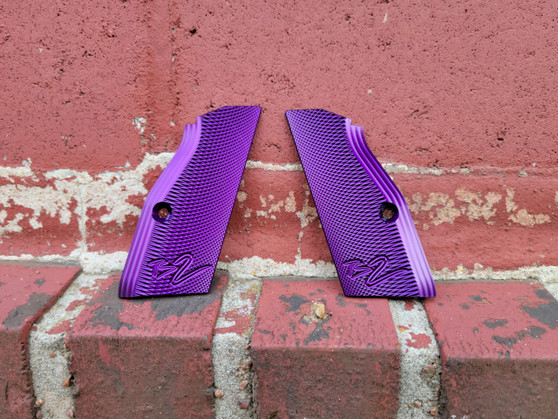 Purple Anodizing Service for Customer Supplied Grips