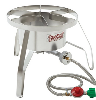 Bayou Classic Stainless Steel Double Jet Burner Goodwood Hardware