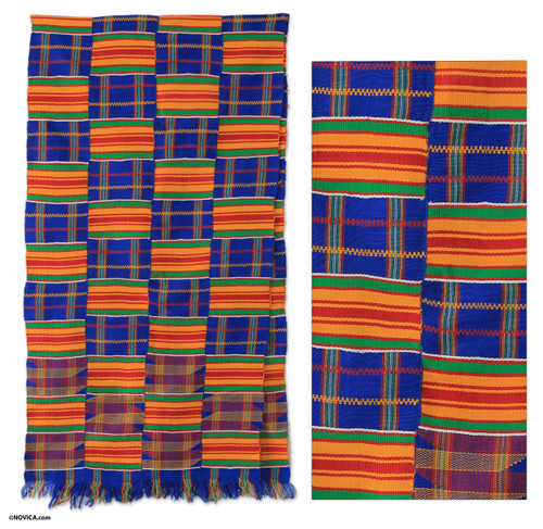 Kente Scarf from Africa 'Tribute to Mother'
