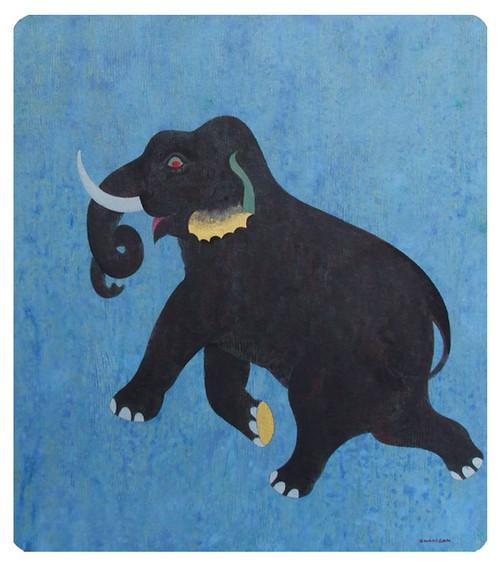 Acrylic Elephant Painting 'Freedom'