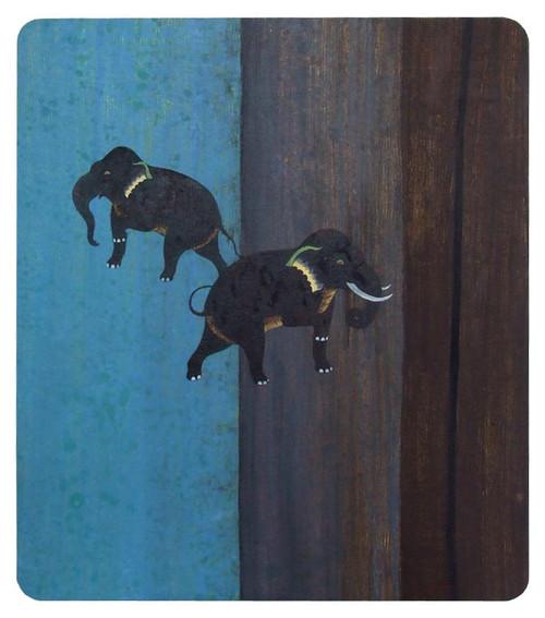 Original Thai Elephant Painting 'Emotion'
