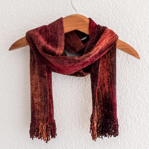 Cotton Blend scarf 'Autumn Dreamer'