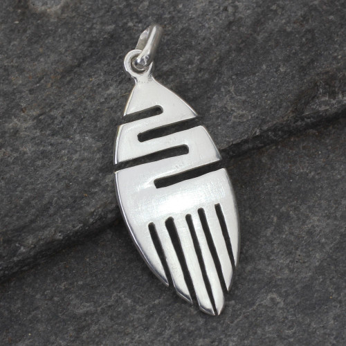 Sterling Silver Pendant 'Resilience'