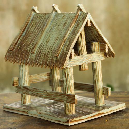 Ceramic Stable for Nativity Scene 'Nativity Stable I'