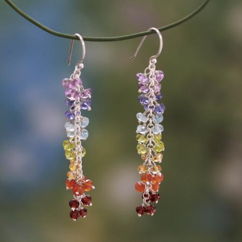 Chakra Earrings from India 'Joyous Life'