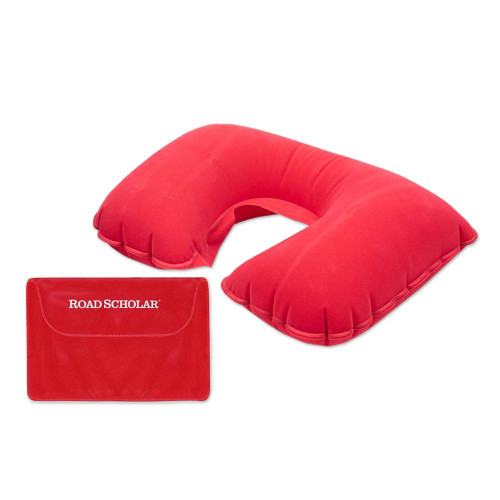 Travel Neck Pillow 'Road Scholar'
