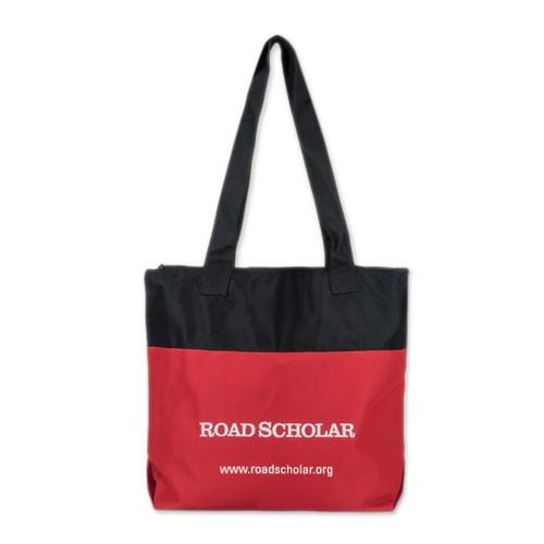 Zipper Tote Bag 'Road Scholar'