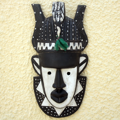 African wood mask 'Nature's Gift'