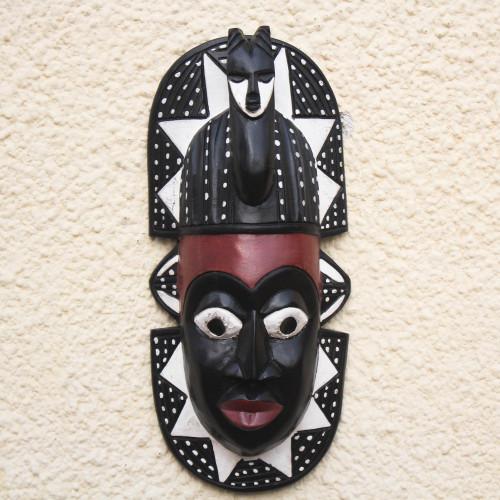 African wood mask 'Harvest Festival'