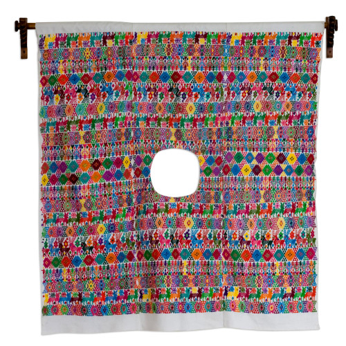 Cotton wall hanging 'Morning in Tactic'