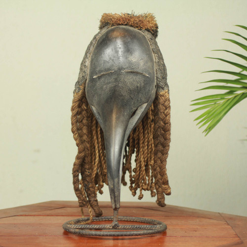 Handcrafted African Mask from the Dan Tribe of Liberia 'Dan Spirit of Darkness'