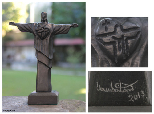 Christ the Redeemer Commemorative Sculpture 'Redeemer of the Day'
