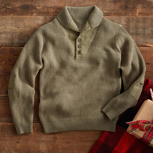 World War II Military Sweater 'Over There'