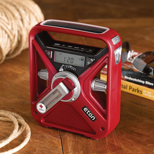 American Red Cross Field Weather Radio and Charger 'American Red Cross Field Radio'