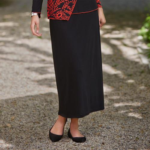 Comfort Travel Skirt 'Timeless Black'