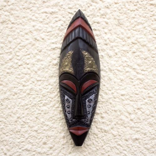 Akan Artisan Crafted African Mask 'Third Daughter'