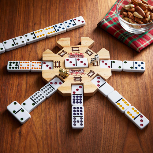 Mexican Train Dominoes 'Station Master'
