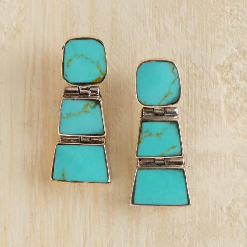 Chilean Earrings 'Andean Treasure'
