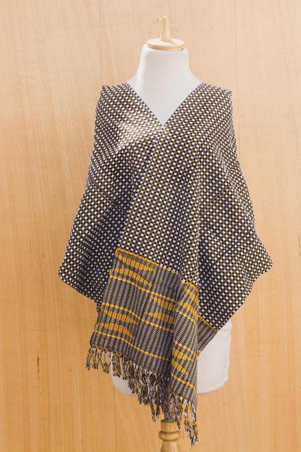 Handmade Kente Cloth 'Royal Checks'