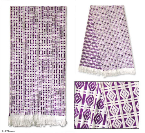 Cotton kente cloth 'Good Fortune'