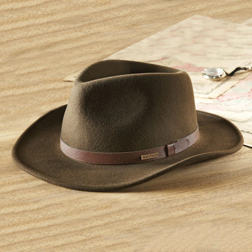 Crushable Felt Travel Hat 'Explorer'