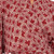 Red Hand Crafted Batik Robe from Indonesia 'Ruby Red Nebula'