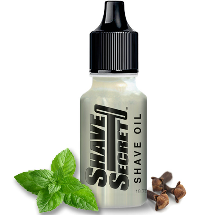 Shave Secret Shaving Oil (1 - 18.75 ml bottle) - Shave Secret Shaving Oil provides the most comfortable, smooth shave ever! Shave Secret takes the place of all shaving creams, soaps, gels, powders, after shave and moisturizing lotions.