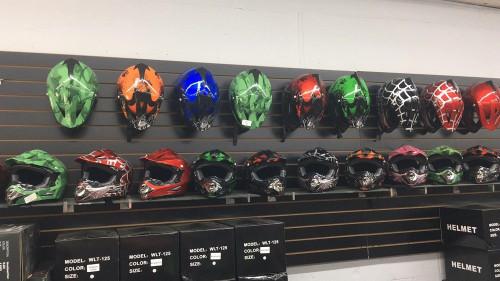 Motocross Full Face Helmet - (Large Size)