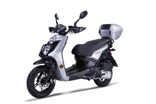 "Amigo JAX-150 Adventure Scooter, 13"" Knobby Tires And FR & RR Disc Brakes!"
